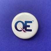QE Pin-Back Button
